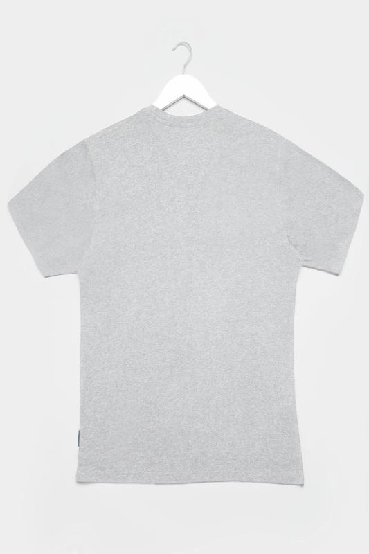 BadRhino Grey Marl Performance Print T-Shirt