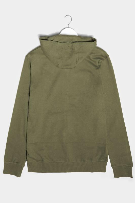 BadRhino Khaki Essential Zip Through Hoodie_BK.jpg