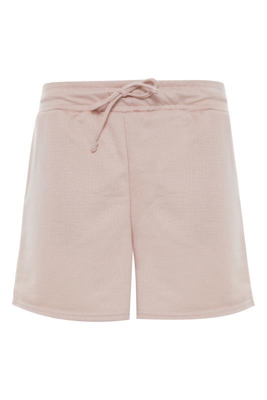 LTS Blush Pink Jersey Sweat Shorts_F.jpg