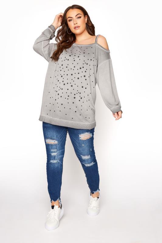 Grey Washed Asymmetric Cold Shoulder Sweatshirt_B.jpg