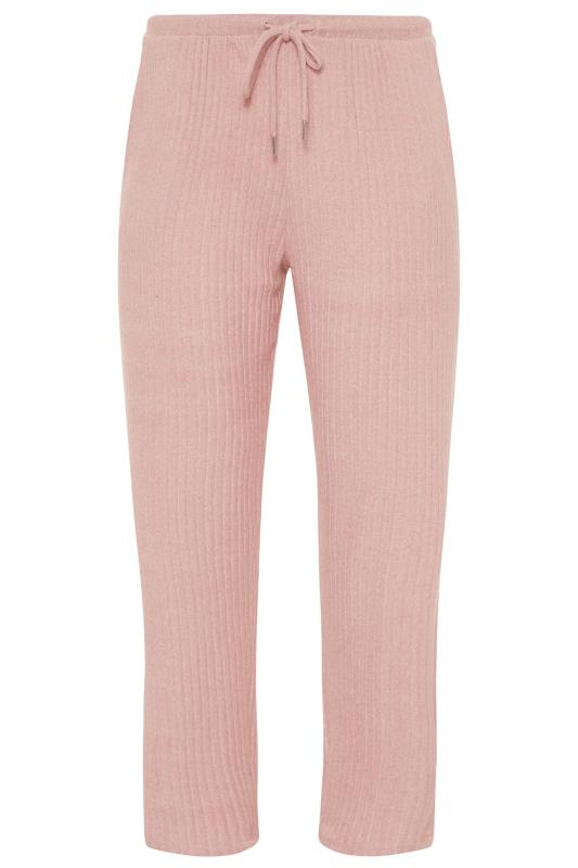 Pink Ribbed Soft Touch Trousers_F.jpg