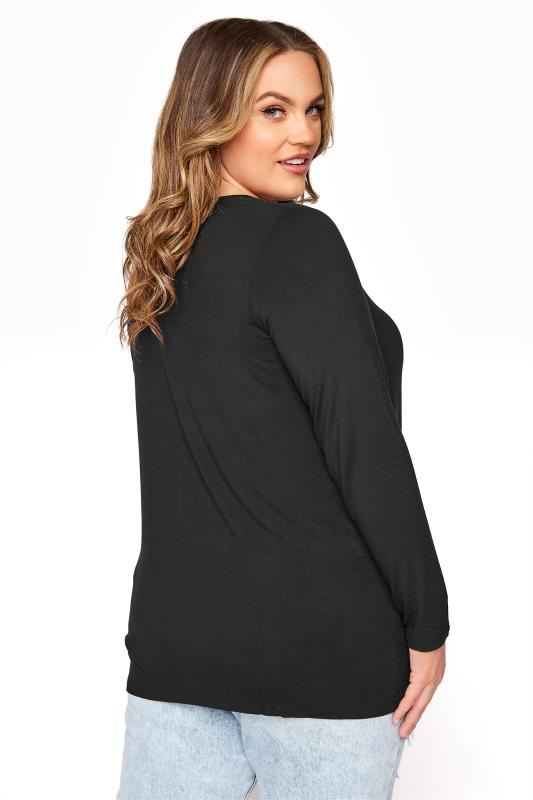 Black Scoop Neck Jersey T-Shirt_C.jpg