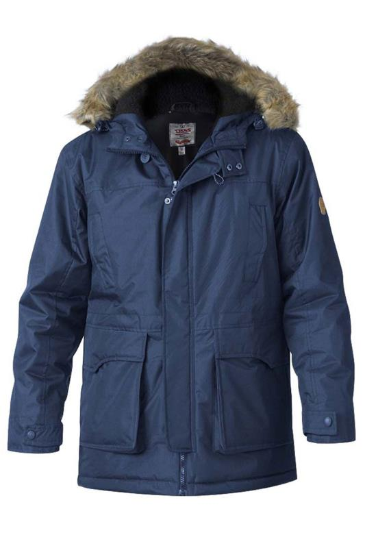 Plus Size Casual / Every Day D555 Navy Lovett Parka Jacket