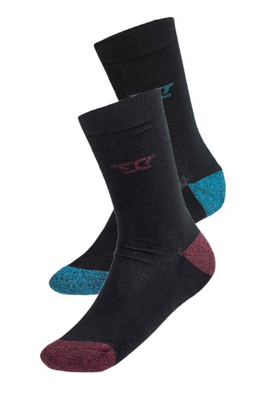 D555 Black Eden Socks