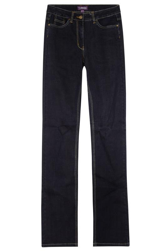 Tall  Dark Blue London Denim Bootcut Jeans