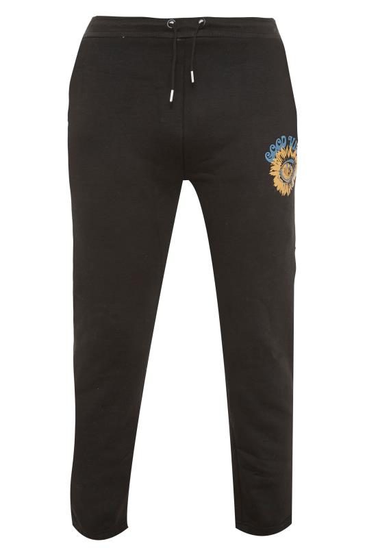 Men's  304 CLOTHING Black Good Vibes Joggers