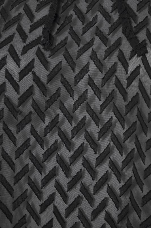 Black Zig Zag Frill Hem Tunic_S.jpg