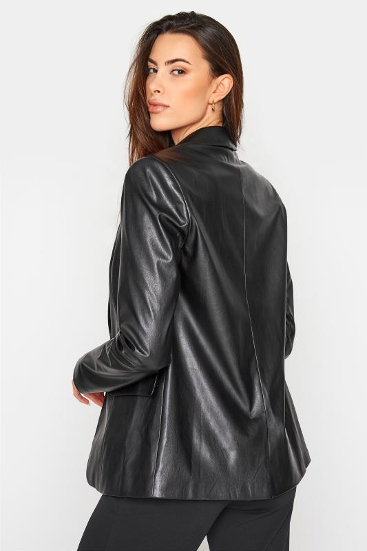 LTS Black Faux Leather Blazer_C.jpg