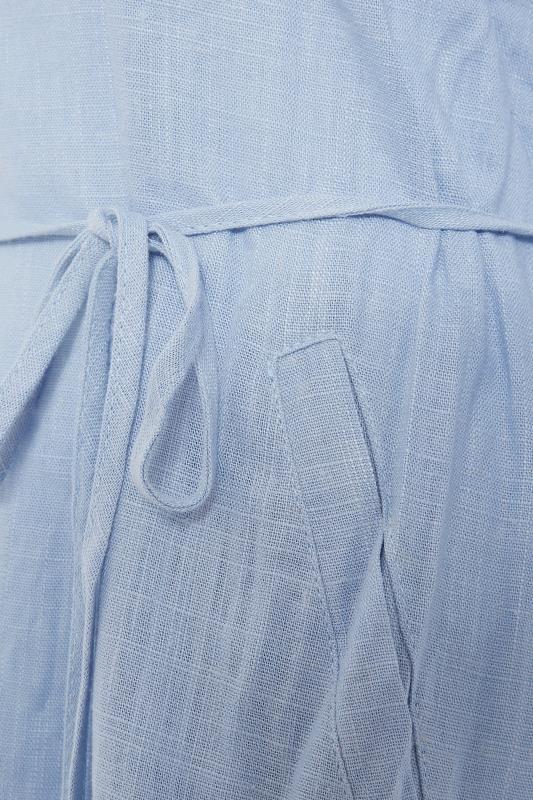 LTS Blue Frill Sleeve Midi Dress_S.jpg