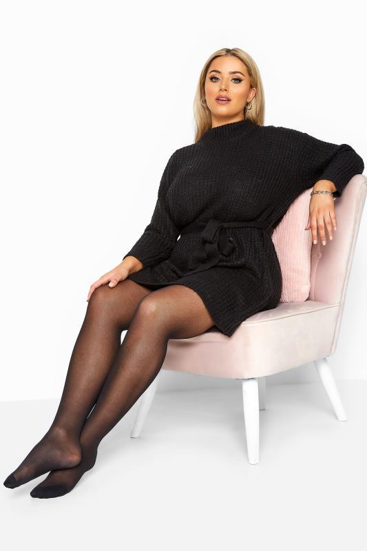 Black Sheer Luxury 30 Denier Tights