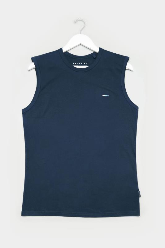 Men's Vests BadRhino Navy Muscle Vest
