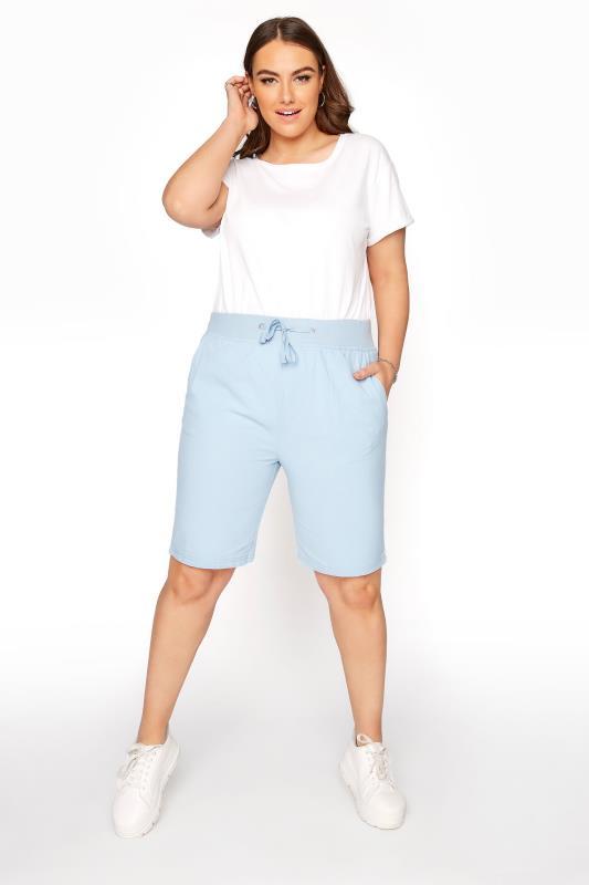 Pale Blue Cool Cotton Shorts_B.jpg