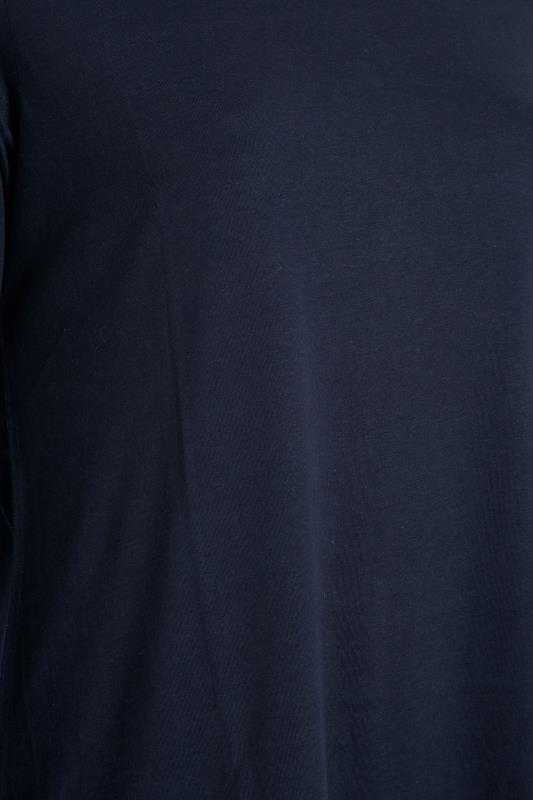 Navy Scoop Neck Long Sleeve T-Shirt_S.jpg