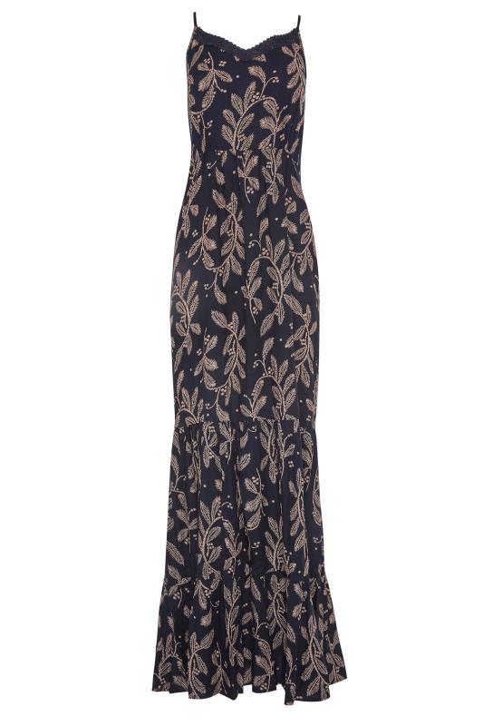 LTS Navy Lace Trim Cami Top Dress_F.jpg