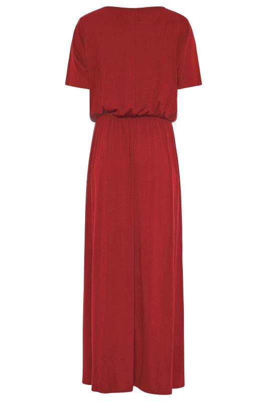 LTS Burgundy Pocket Midaxi Dress_BK.jpg