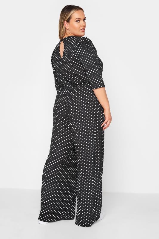 LIMITED COLLECTION Black Polka Dot Jumpsuit_C.jpg