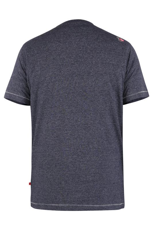 D555 Navy Yosemite Print T-Shirt_BK.jpg