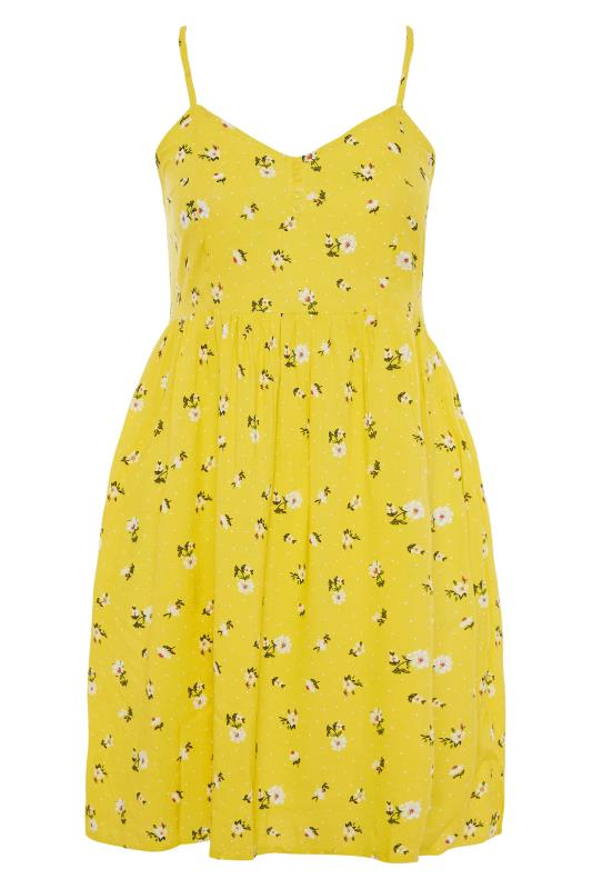 Yellow Floral Strappy Dress_F.jpg