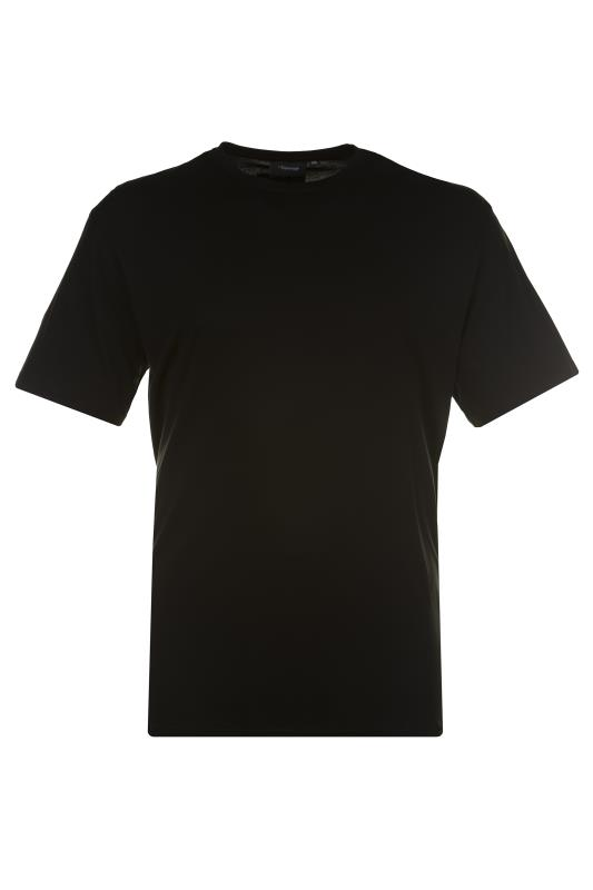 Plus Size  ESPIONAGE Black Basic T-Shirt