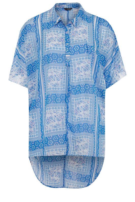 Blue Patchwork Batwing Shirt_F.jpg