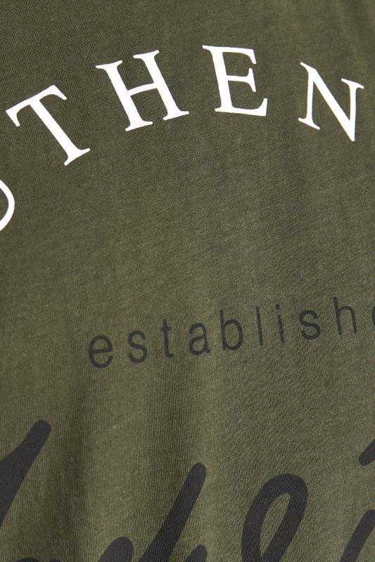 JACK & JONES Khaki Herro T-Shirt_S.jpg
