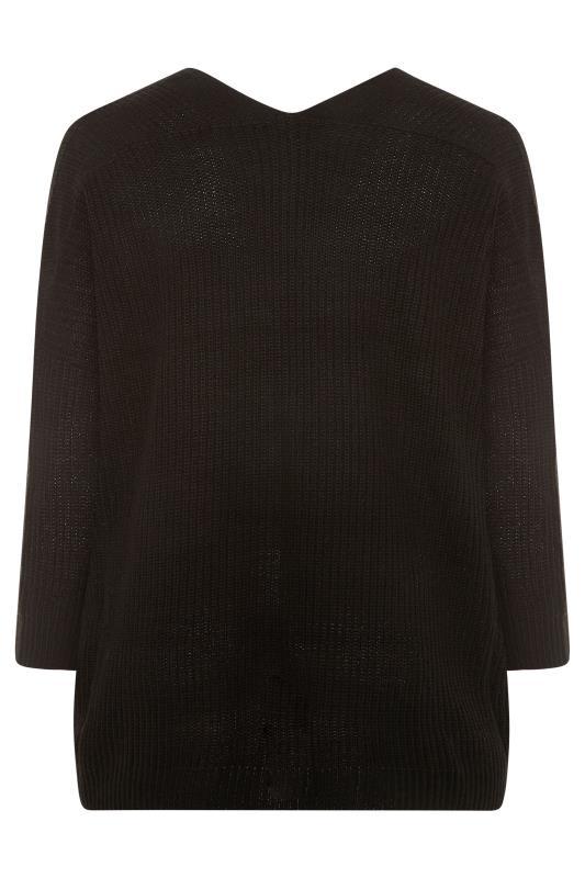 Black Button Knitted Cardigan_BK.jpg