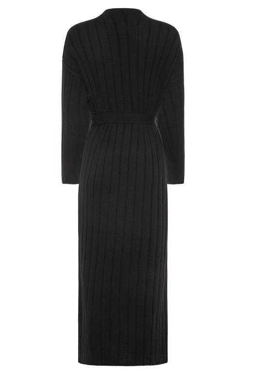 LTS Black Ribbed Belted Cardigan_BK.jpg