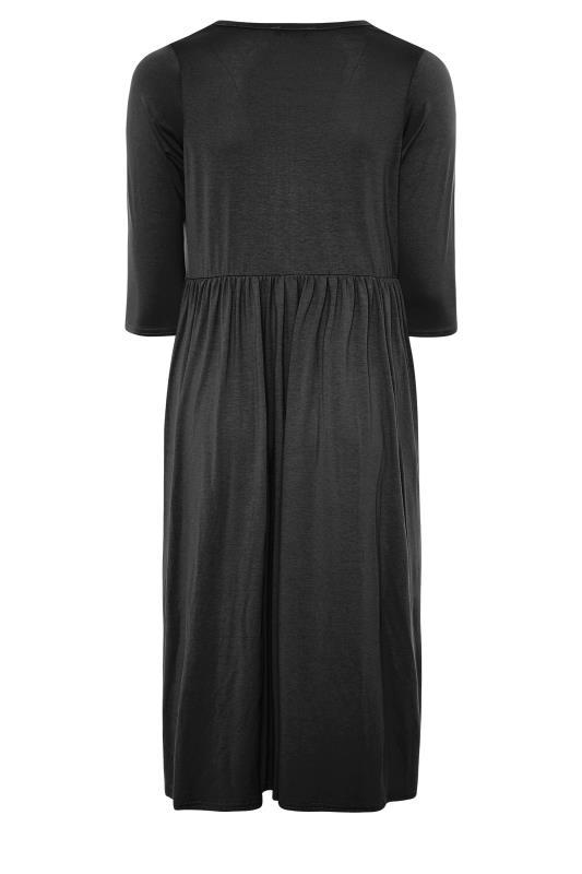 LIMITED COLLECTION Black Button Midaxi Dress_BK.jpg