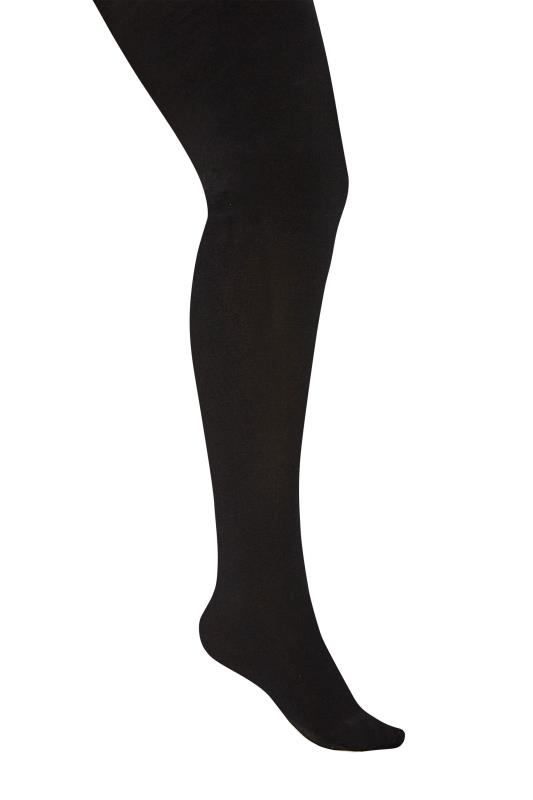 Yours Black Super Soft Knitted Tights
