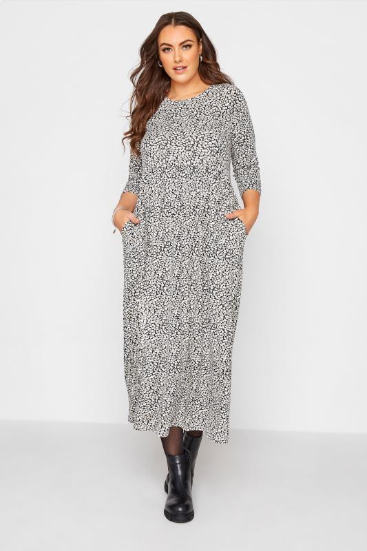 Black Ditsy Pocket Midaxi Dress_A.jpg