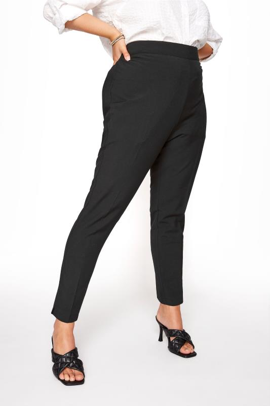 Tapered & Slim Fit Trousers Black Tapered Trouser