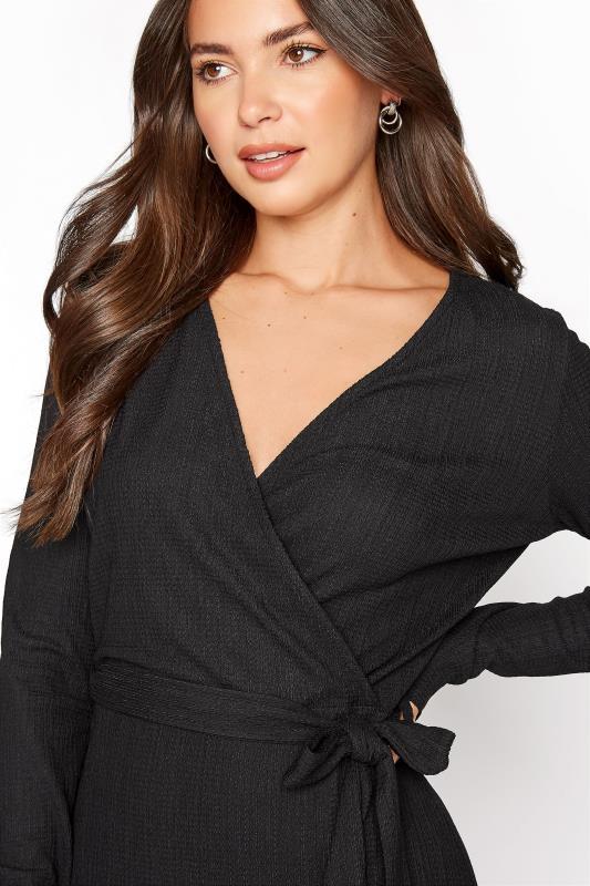 LTS Black Textured Wrap Dress_D.jpg
