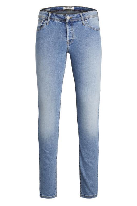 Men's  JACK & JONES Light Blue Glenn Straight Leg Jeans