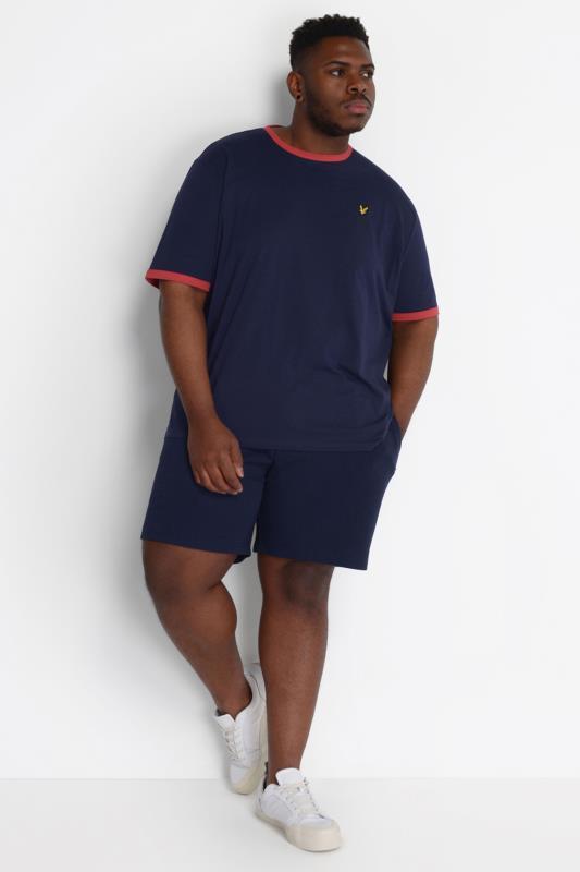 LYLE & SCOTT Navy Jogger Shorts