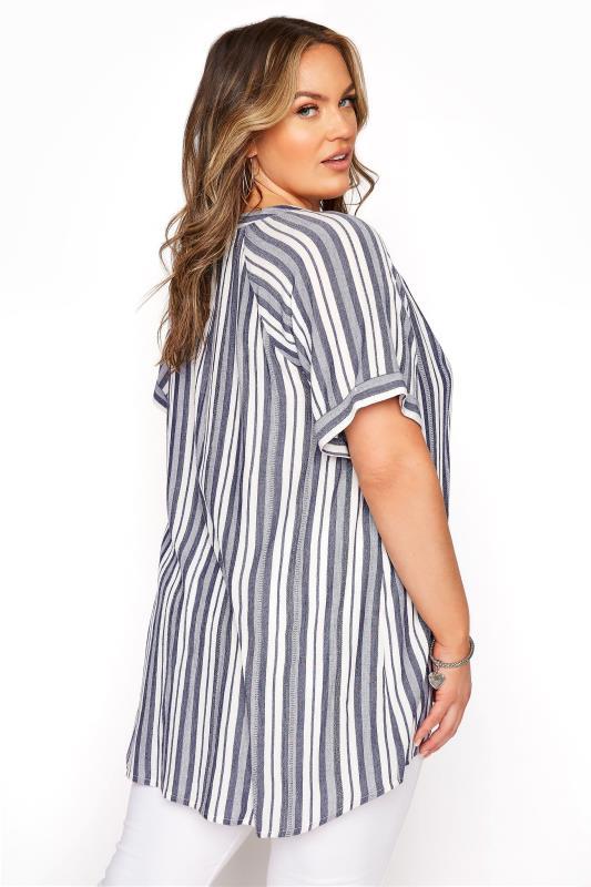 Blue Stripe Raglan Sleeve Shirt_C.jpg