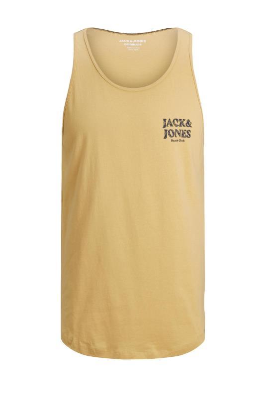 JACK & JONES Yellow Jorsunny Vest