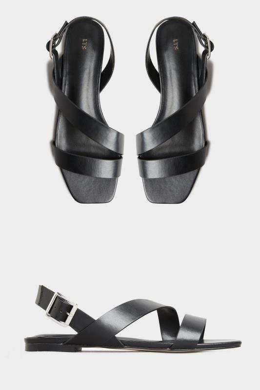 LTS Black Crossover Strap Sandals_split.jpg