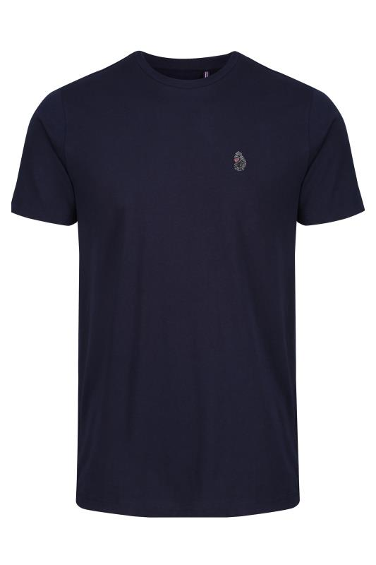Plus Size  LUKE 1977 Navy Type Writer T-Shirt