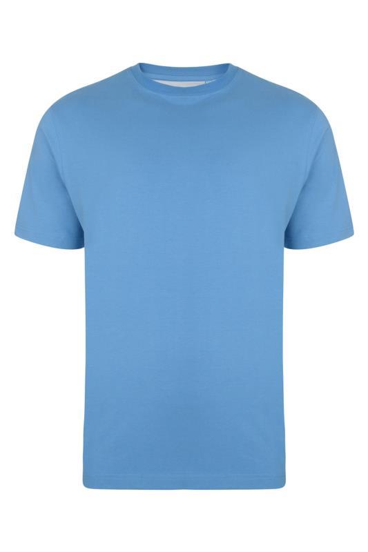 Plus Size  Kam Light Blue T-Shirt