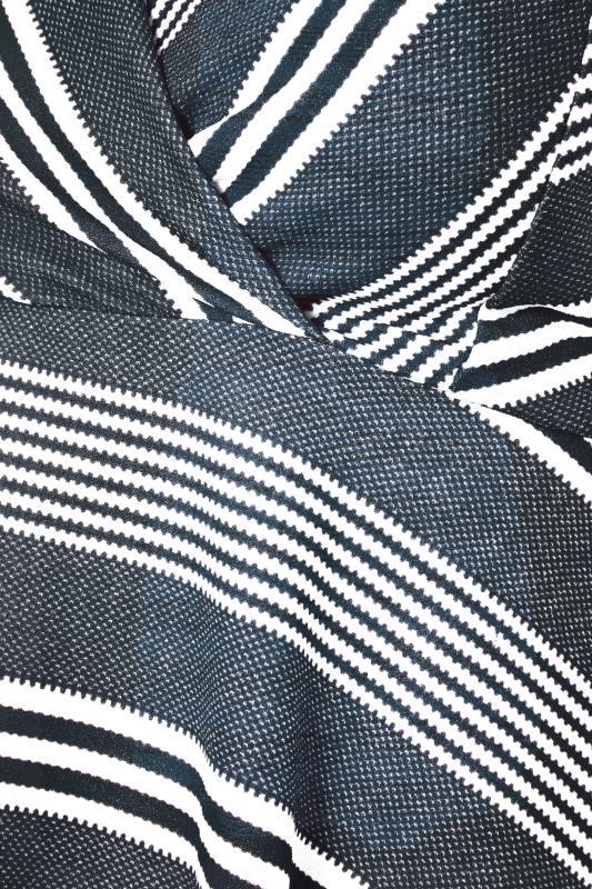 Navy Stripe Wrap Skater Dress_S.jpg