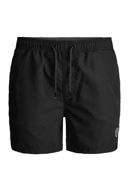 Men's  JACK & JONES Black Bali Swimshorts