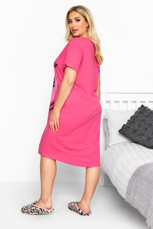 Pink Betty Boop 'Heartbreaker' Slogan Nightdress