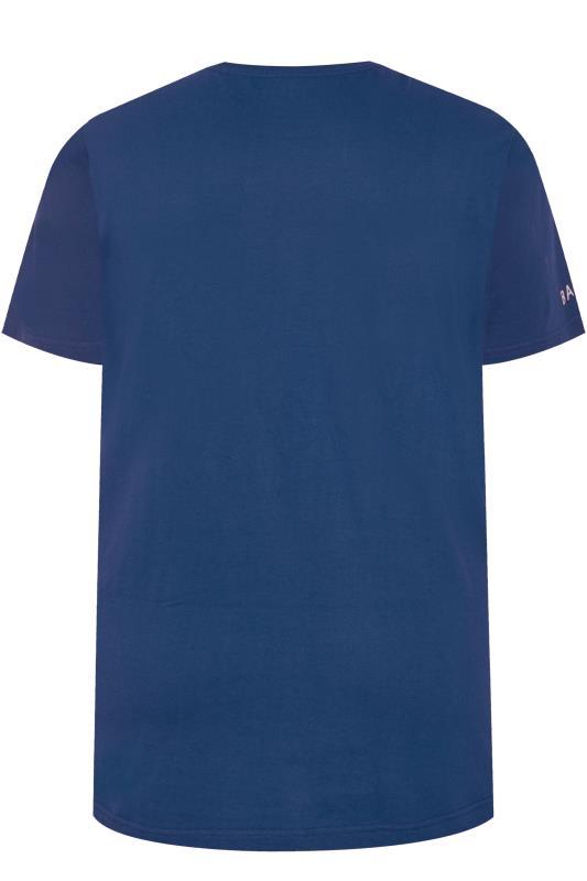BadRhino Royal Blue Embroidered Logo T-Shirt