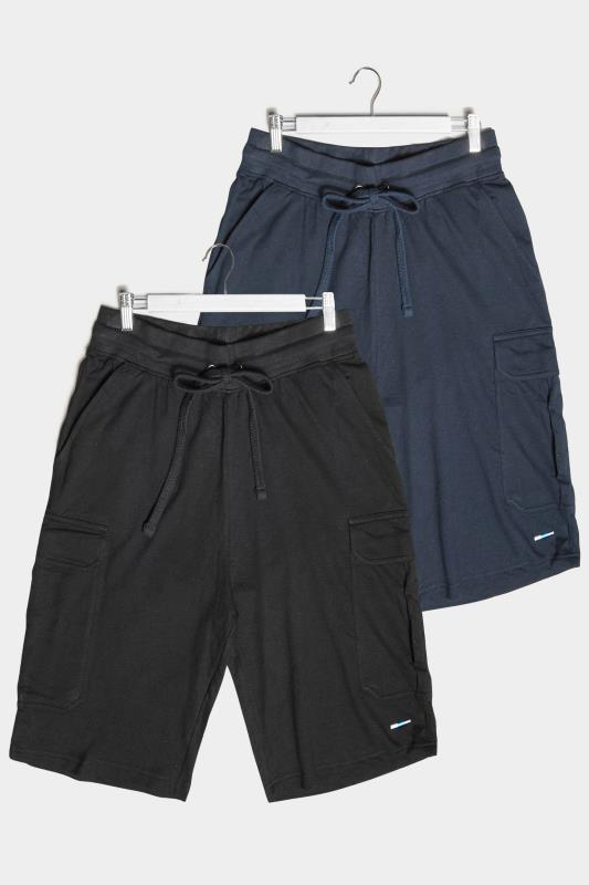 BadRhino Multi 2 Pack Cargo Shorts