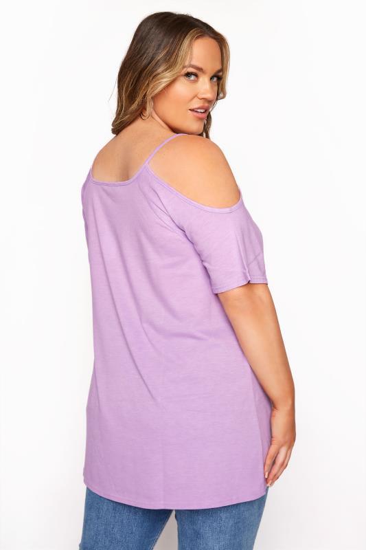 Lilac Strappy Cold Shoulder Top_C.jpg