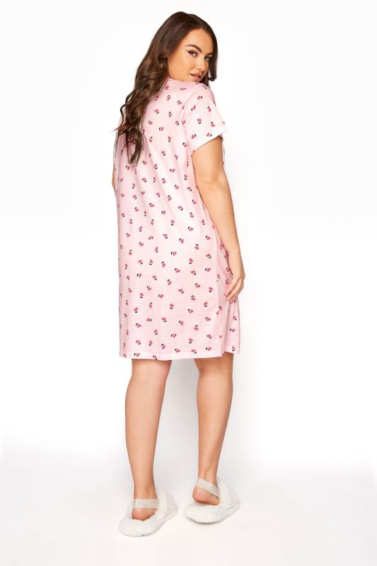 Pink Cherry Placket Nightdress_B.jpg