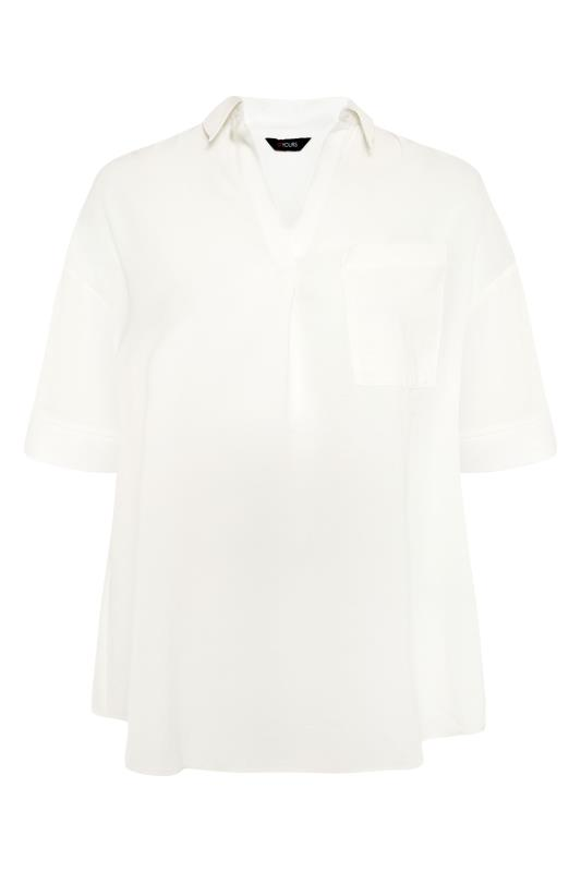 THE LIMITED EDIT White Pleated Front Top_F.jpg