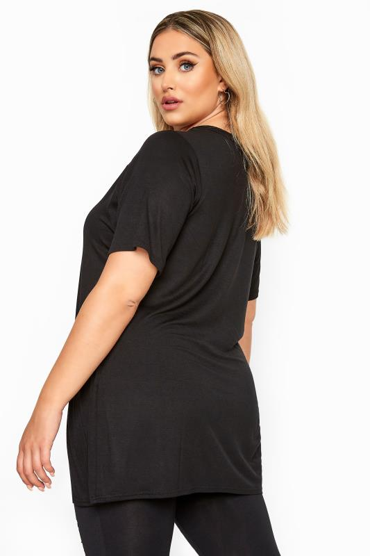 LIMITED COLLECTION Black Mesh Insert Top