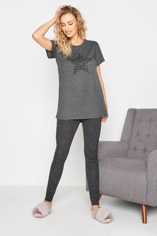LTS Grey Leopard Print Star Pyjama Set_A.jpg