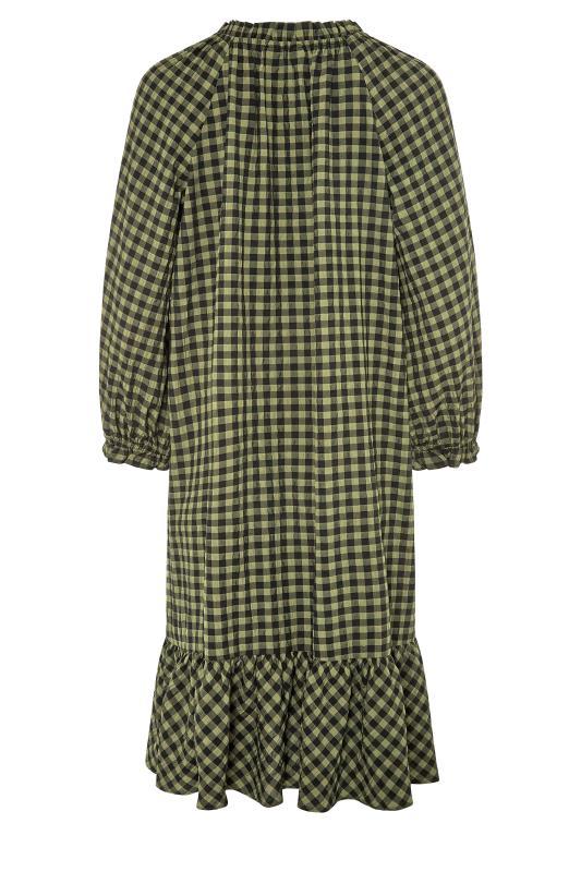 LTS Green Gingham Smock Midi Dress_BK.jpg